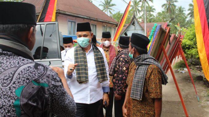 Bupati Solok Hadiri Acara Malewakan Gala Pusako Datuak Rajo Mulia Suku Panyalai Nagari Paninggahan