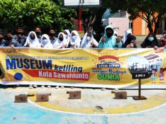 Foto Bersama Siswa Peserta (Museum Keliling SawahLunto)