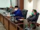 Jubir Hak angket HM Nurnas saan mengadakan Jumpa Pers di DPRD Sumbar