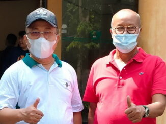 Ketua DPP PKPS), Zulhendri Chaniago bersama Ketua DPW PKPS Sumbar, H S Budi Syukur, SH.