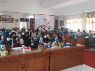 Konferensi Kerja PGRI Kabupaten Tanah Datar 2021.