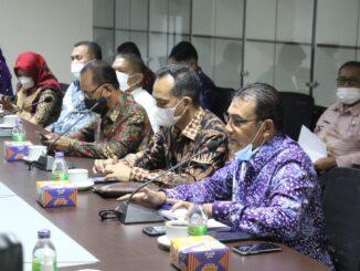 Kunjungan Pemkab Solok ke Kota Pekanbaru.