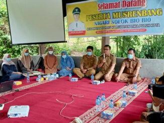 Musrenbang Nagari Solok Bio-Bio.