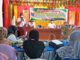 Musyawarah Rencana Kerja Pemerintah (RKP) Tahun Anggaran 2021 di Aula Kantor Wali Nagari Tujuah Koto Talago.