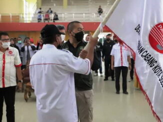 Pelantikan DPC Pappri Kabupaten dan Kota Solok.