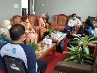 Pembahasan rencana MoU Pemko Payakumbuh dengan BP2MI Propinsi Sumbar.