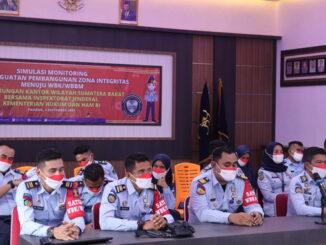 Penguatan oleh Tim Monitoring dan Penguatan Zona Integritas menuju WBK-WBBM Inspektorat Jenderal Wilayah Sumatera Barat.