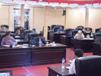 Rapat DPRD Kab. Solok dengan KPK RI.