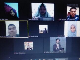 Rapat Virtual IMPPS UIN Imam Bonjol.