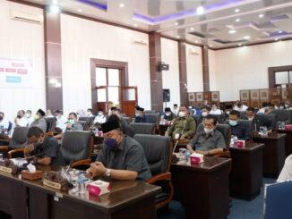 Rapat paripurna DPRD Kab. Solok Selatan.