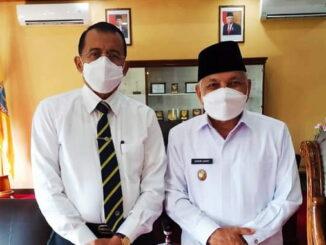 Rektor UNP dan Wakil Walikota Sawahlunto.