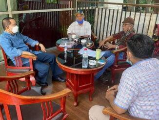 Tim Editor bersama Anggota DPR RI, Darul Siska di Balirung Hotel Jakarta,