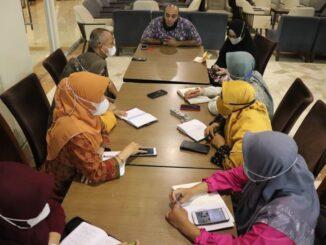 Tim penjajakan kerja sama RSUD Bukittinggi dengan dr Zaidul Akbar tengah melakukan pertemuan silaturrahmi.