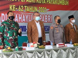 Wako Riza Falepi saatmenghadiri HUT Pepabri.