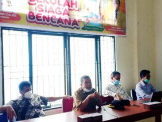 Workshop tentang pengembangan sekolah menjadi sekolah siaga bencana, di ruang sidang Dinas Pendidikan Kota Pariaman.