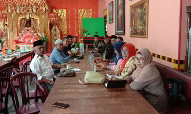 Suasana Musyawarah Pembentukan PABPDSI Kecamatan Batipuh dan Batipuh Selatan.