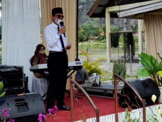 Bupati Safaruddin saat memberi sambutan.