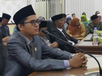 Ketua Komisi ll DPRD Agam Rizki Abdillah Fadhal.
