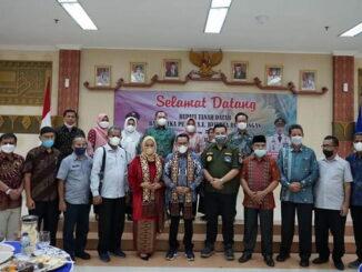 Kunjungan bupati Eka Putra ke Lampung.