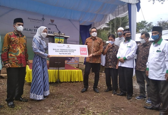Louncihng Program Balai Ternak Kabupaten Tanah Datar.