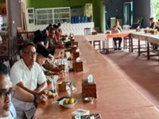 Musyawarah untuk membentuk Pengurus PABPDSI Kecamatan Lintau.