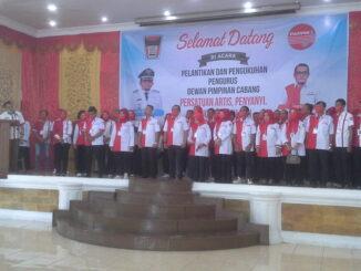 Pelantikan DPC PAPPRI Kota Padang.