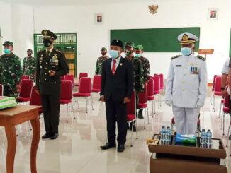 Peringatan HUT TNI Ke-76 di Mentawai.