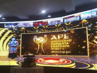 Acara Anugerah Parahita Ekapraya Tahun 2020.
